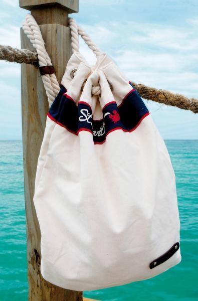Белая пляжная сумка с канатом David BA 100 One Size Белый David BA 100
