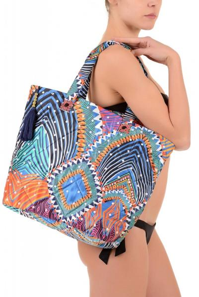 Пляжная сумка с вышивкой Vacanze Italiane VI7 094 One Size Цветной Vacanze Italiane VI7 094