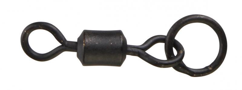 Вертлюжок Prologic Swivels W/Ring Size 8 10pcs с кольцом