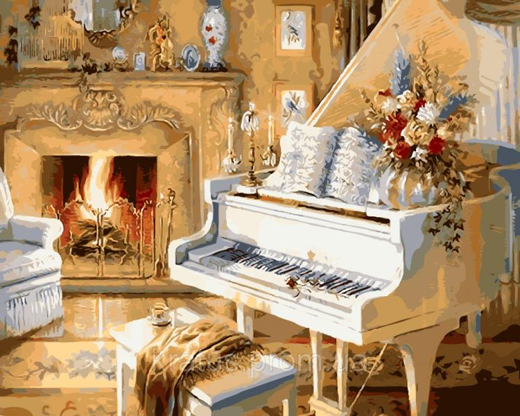 "NB 921 ""Белый рояль"" Premium 40x50см"