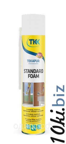 Пена монтажная Tekapur Standard (spray) бытовая монтажная, 750мл Монтажная пена в России