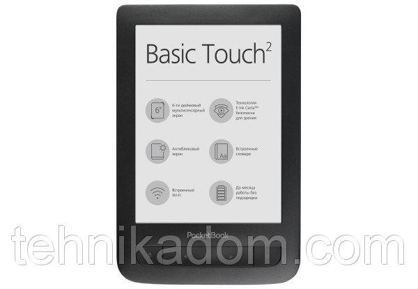 Электронная книга PocketBook 625 Basic touch 2 Black