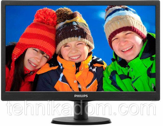 LED-монитор PHILIPS 193V5LSB2/10 Black