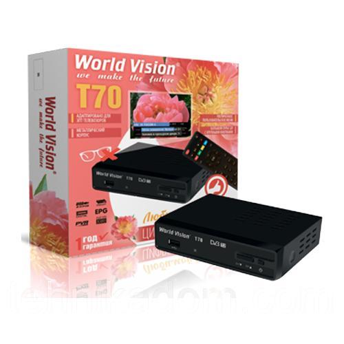 Тюнер DVB-T2 WORLD VISION T70