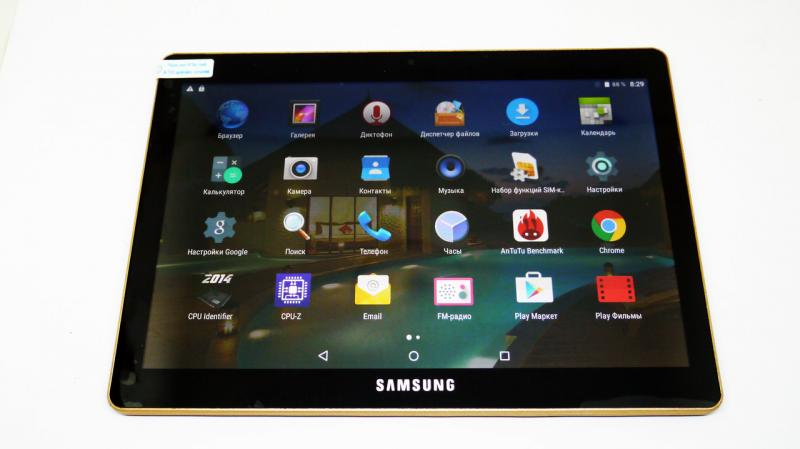 "Планшет-телефон Samsung Galaxy 10,1""  2Sim - 8Ядер+2GB Ram+16Gb ROM+GPS (copy)"