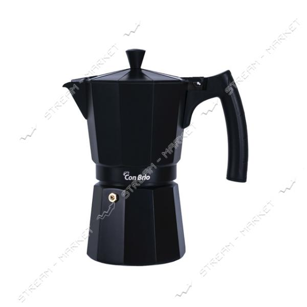 Гейзерная кофеварка ConBrio СВ-6409 450мл