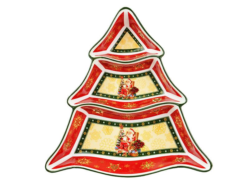 Менажница Lefard Christmas collection 25 см , 586-052