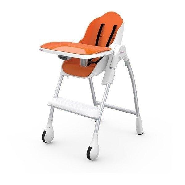 Детский универсальный стульчик для кормления Oribel Cocoon - Оранжевый OR200-90006