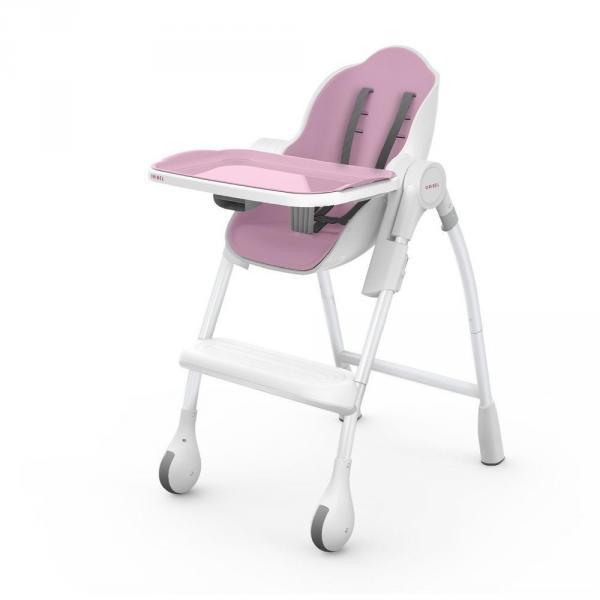 Детский универсальный стульчик для кормления Oribel Cocoon DELICIOUS -  Розовое Безе