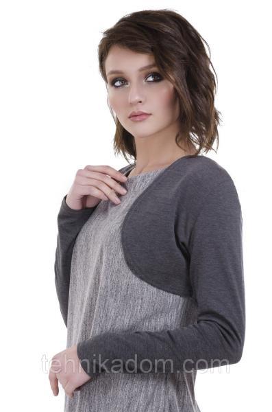 Болеро женское, серого цвета от YuLiYa Chumachenko