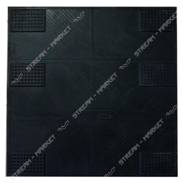Коврик противовибрационный (под стиральную машину) черный 60х60 см