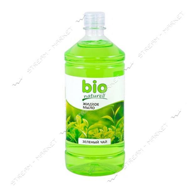 Мыло жидкое Bio Naturell Зеленый чай запаска 1000мл