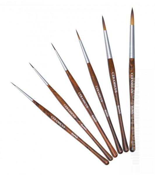 Фото Для зуботехнических лабораторий, АКСЕССУАРЫ, Инструменты Кисточка Керамикус (Ceramicus) размер №1 (Renfert )