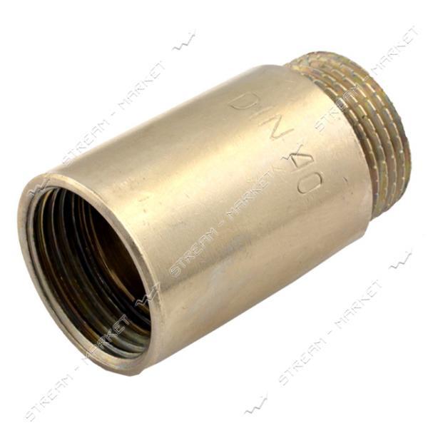 Удлинитель латунный 1/2' L=50мм никелированный N08790.4