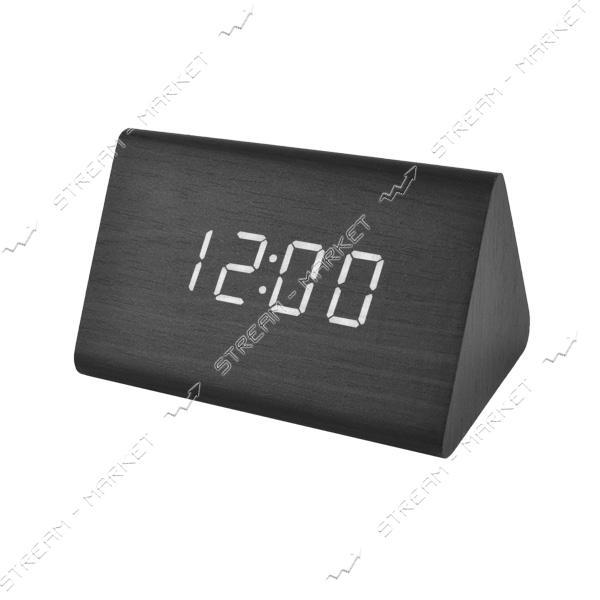 Часы сетевые 864-6 белые