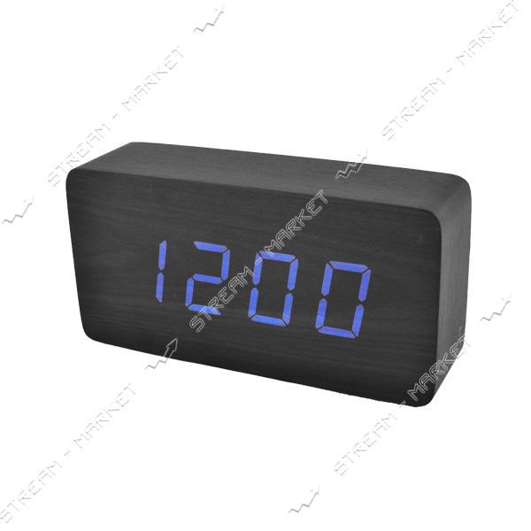 Часы сетевые 867-5 синие