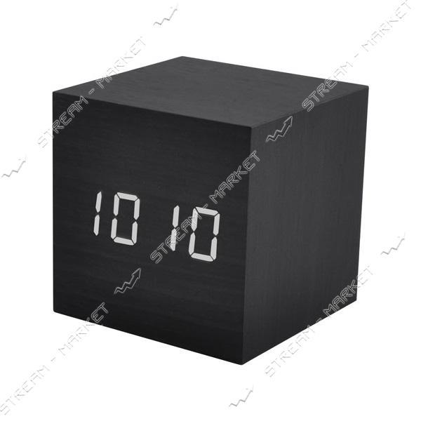 Часы сетевые 869-6 белые
