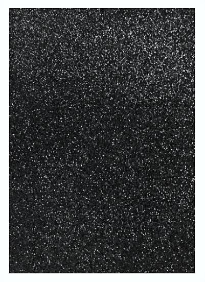 Фото Фоамиран  с  глитером , и  без  глитера. Фом  20 * 30 см. с  чёрным  Глитером ( без клеевой основы ) толщина 2 мм.