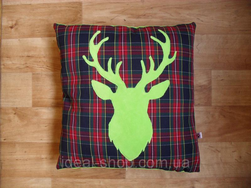 Декоративная подушка «Олень»