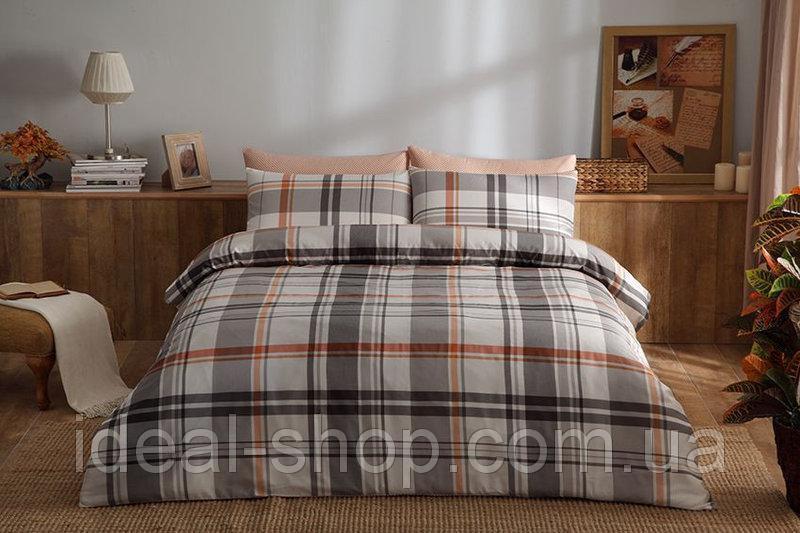 TAC Евро комплект постельного белья сатин Brand orange