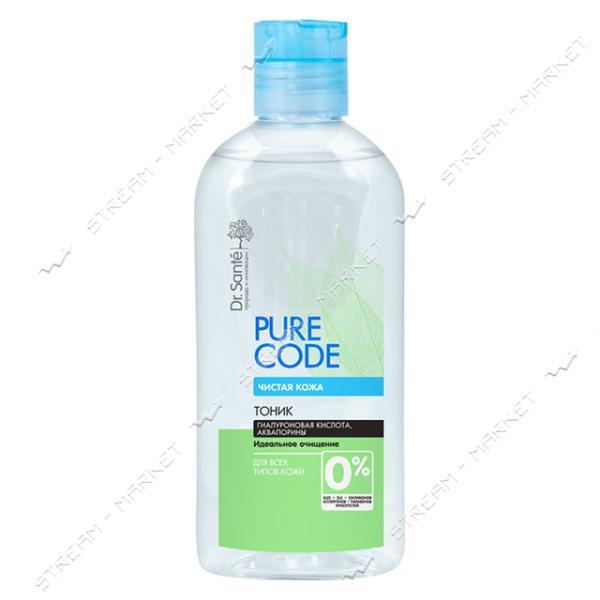 Тоник для лица Dr.Sante Pure Cоde Гиалуроновая кислота и аквапорины 150мл