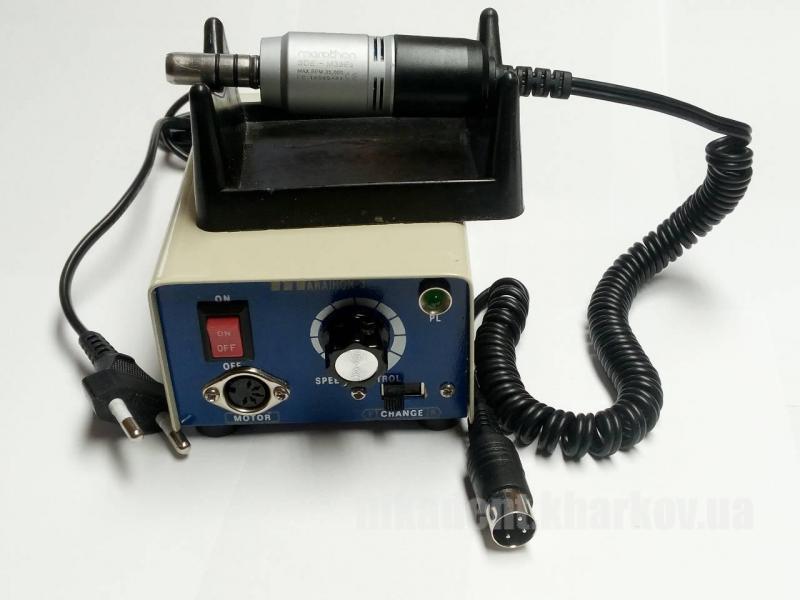 Фото Для зуботехнических лабораторий, ОБОРУДОВАНИЕ Микромотор электрический портативный Marathon-3 с микромотором E-Type SDE-M33E