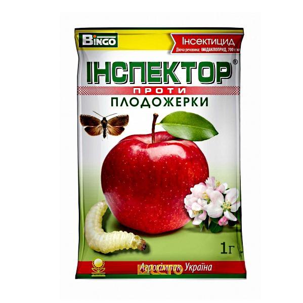 Инсектицид Инспектор против плодожорки 1 гр. Агрохимпак