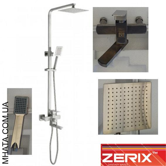 Душевая колонна Zerix LR72433 (материал нержавейка)