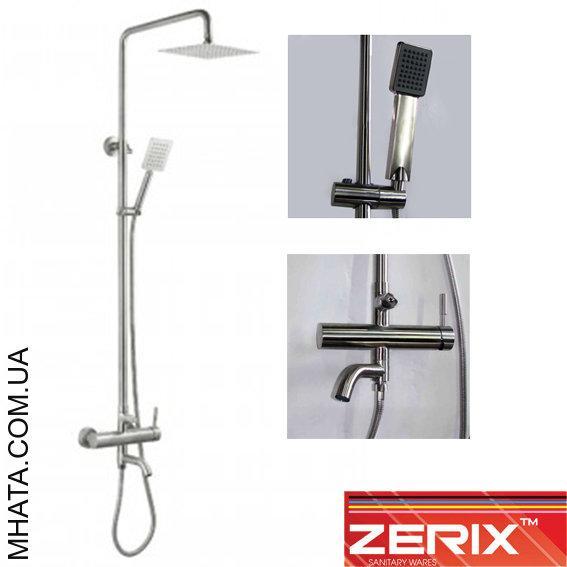 Душевая колонна Zerix LR72404 (материал нержавейка)