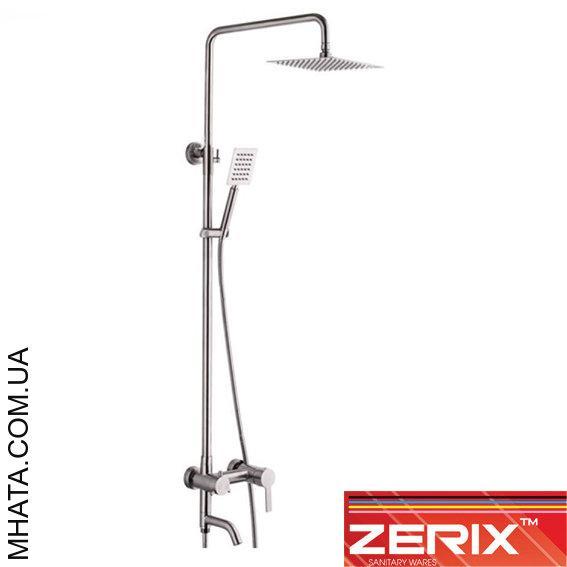 Душевая колонна Zerix LR72402 (материал нержавейка)