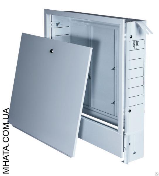 Шкаф коллекторный встроенный №0 (340х675х120) на 2 выхода