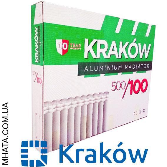 Алюминиевый радиатор Krakowl 500*100, Польша
