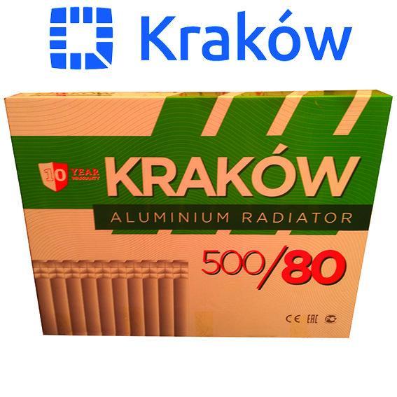 Алюминиевый радиатор Krakowl 500*80, Польша