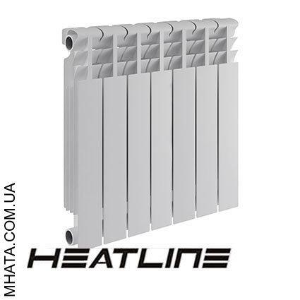 Биметаллический радиатор HEATLINE Ecoterm 500*75, Китай (вес секции 1,28)