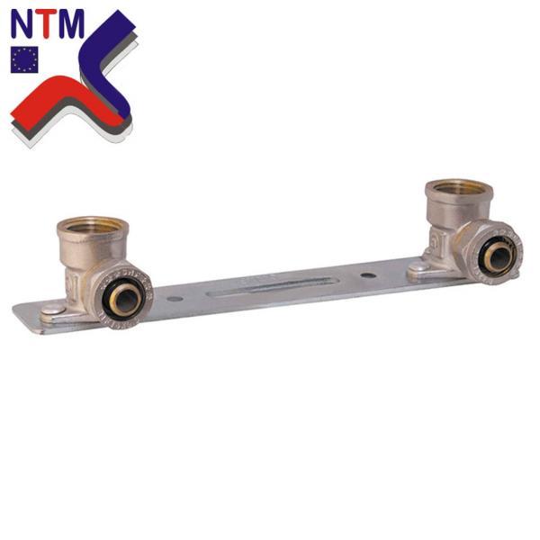 Планка монтажная для Металлопластиковой трубы L16*1/2в (неразборной)