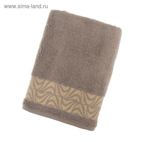 Полотенце махровое Lamina ПЦ-3501-3027, 70х130,цв.305, серый, хл.100%, 420 г/м2