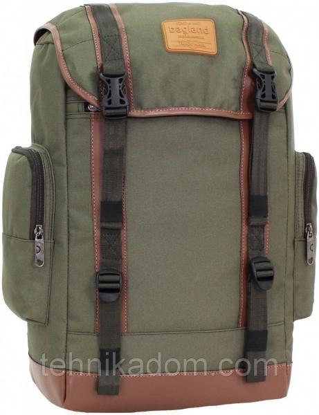 Украина Рюкзак для ноутбука Bagland Palermo 25 л. Хаки (0017966)