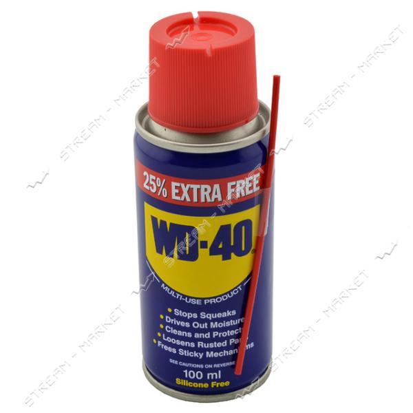 Смазка-спрей WD-40 оригинал Англия 100мл