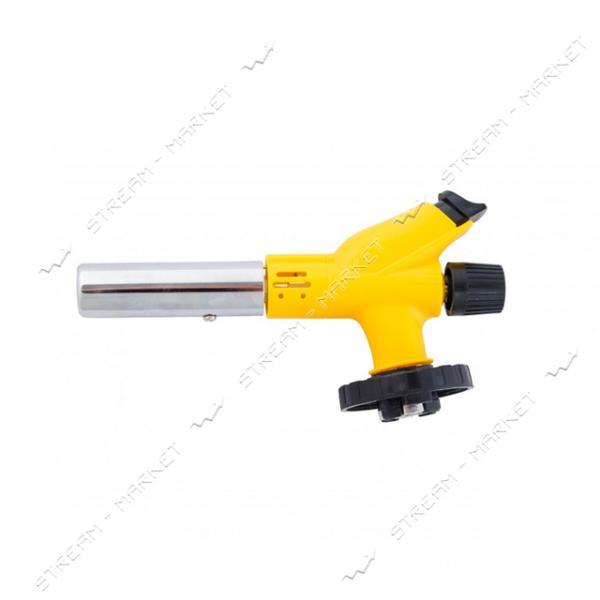 Горелка для газового баллона MASTERTOOL 44-5024 Прометей керамическая защита 1350°C