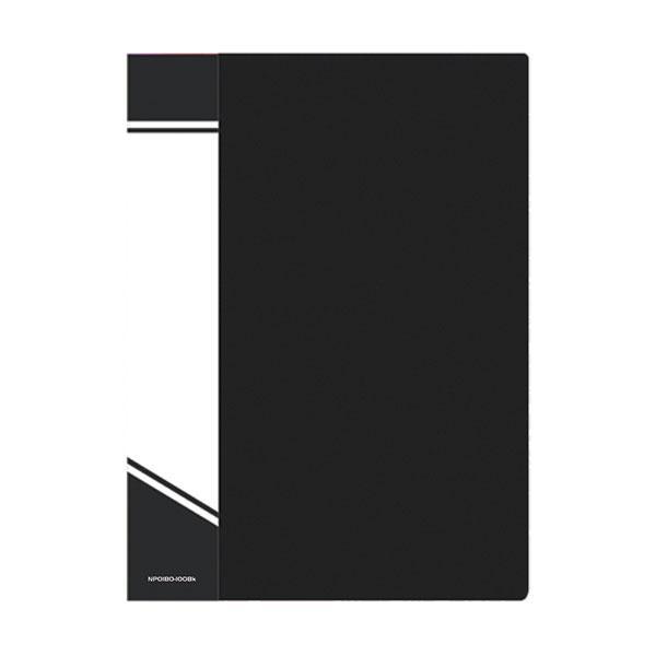 Папка с файлами inФОРМАТ А4 100 файлов, пластик 800 мкм, карман для маркировки, цвет ассорти
