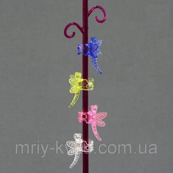 Зажим (крепление цветоносов) для орхидеи Стрекоза