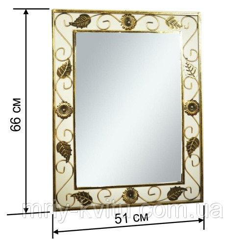 Кованое зеркало №1