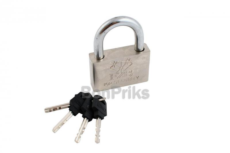 Замок навесной FZB - 70 мм Extra пластик ключ