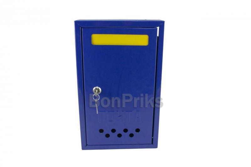 Почтовый ящик - прямой 700 х 120 х 60 мм (цветной)