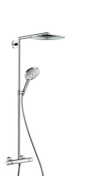 Душевая система Hansgrohe Raindance Select E 300 Showerpipe 27114000 хром