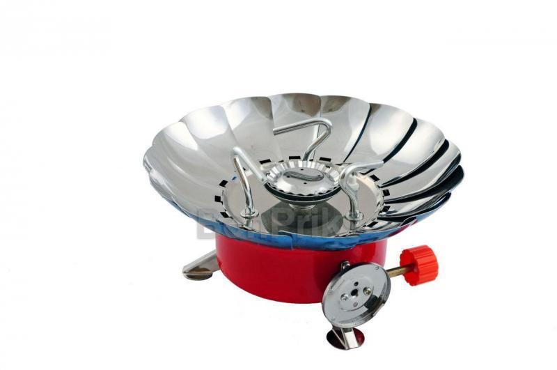 Плита газовая портативная Vita - с лепестками от ветра (малая) L4