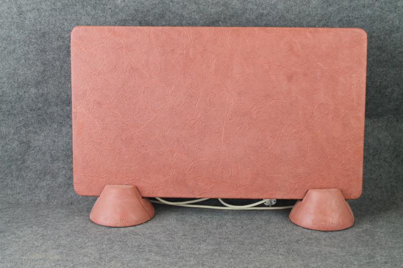 Керамогранитный обогреватель UDEN-S Гранж коралловый (ножки-конусы)