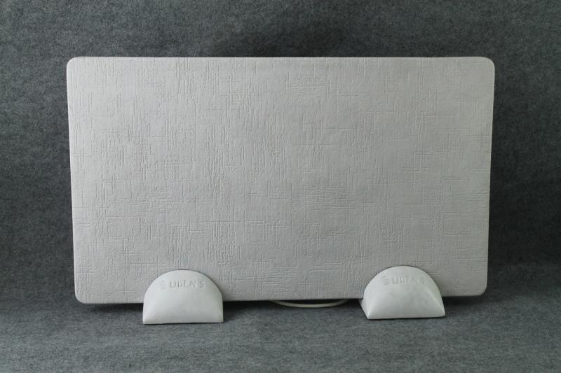 Керамогранитный обогреватель UDEN-S Холст бузковый (ножки-сферы)