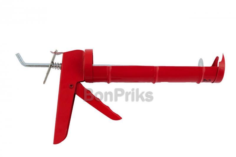 Пистолет для силикона Intertool - сплошной, 225 мм