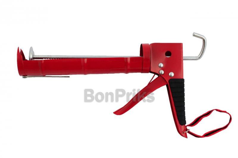 Пистолет для силикона Intertool - усиленный, 225 мм